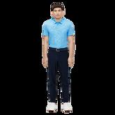 Alternate View 2 of Tony Slim Fit Golf Polo Print