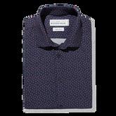Alternate View 5 of Flynn Navy Paisley Print Dress Shirt