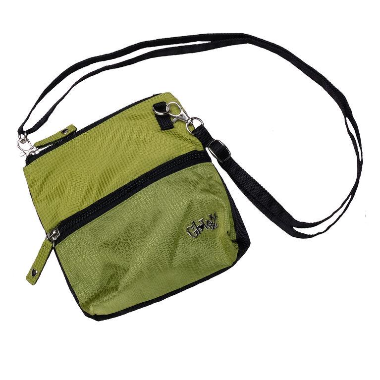 Kiwi Check Zip Bag