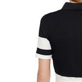 Alternate View 5 of Natasha Short Sleeved Colorblock Polo Shirt