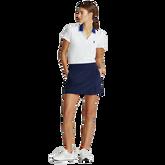 Alternate View 2 of Short Sleeve Contrast Collar Piqué Polo Shirt