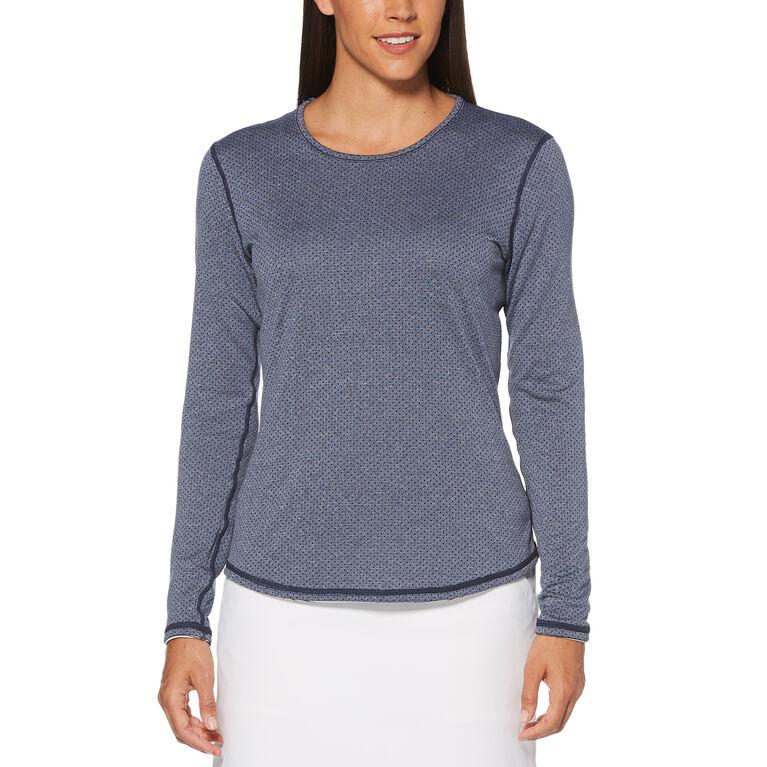 Aqua Group - Reversible Layering Long Sleeve Golf Shirt