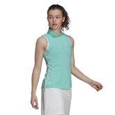 Alternate View 1 of Ultimate 365 Sleeveless Printed Trim Polo Shirt