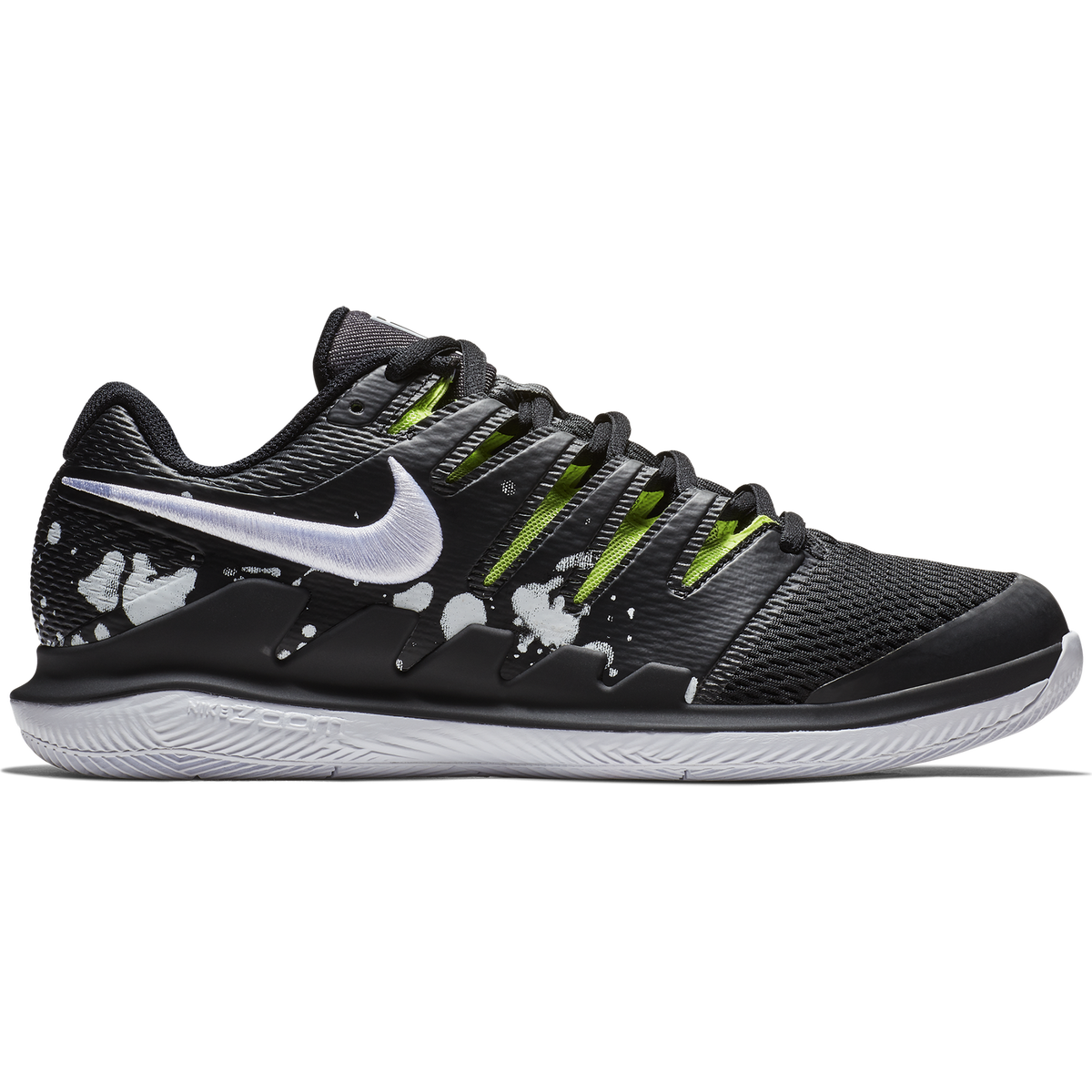 3e1cae305e508 NikeCourt Air Zoom Vapor X Premium Men's Tennis Shoe - Black/Green
