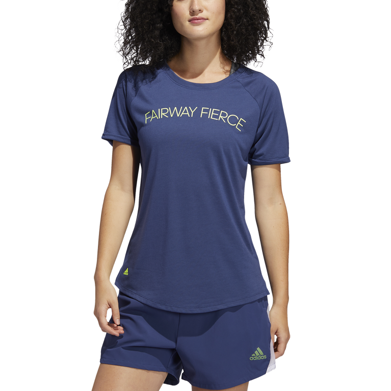 Short Sleeve Fairway Fierce Tee Shirt