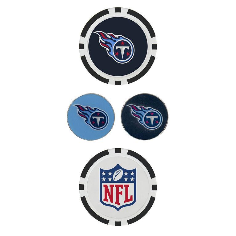 Team Effort Tennessee Titans Ball Marker Set