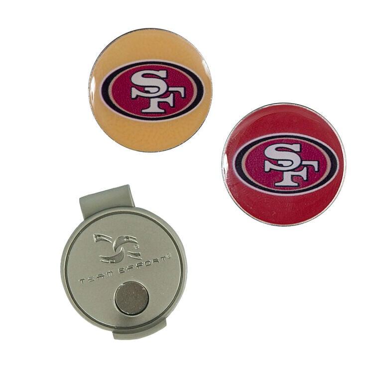 Team Effort San Francisco 49ers Hat Clip & Ball Marker