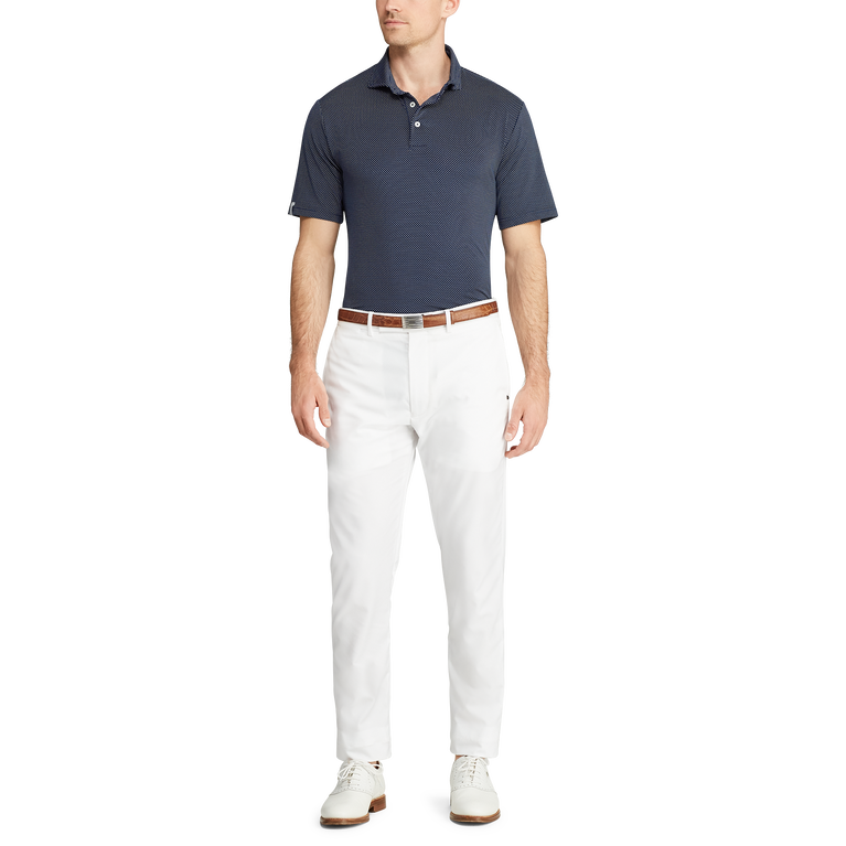 Printed Lightweight Airflow Polo