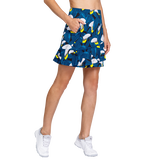 Alternate View 1 of Tranquil Bay Collection: Lily Garden Fit and Flare Pull On Skort
