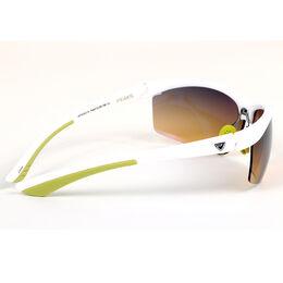 GX5 White & Marg Sports Wrap Sunglasses