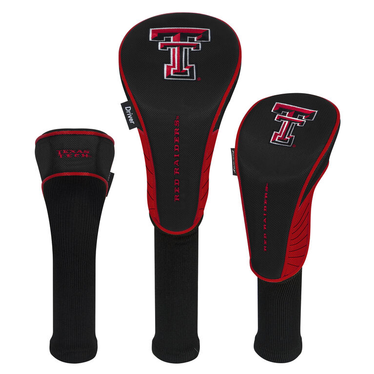 Team Effort Texas Tech Red Raiders Headcover Set of 3