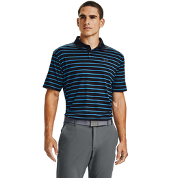Performance Polo Textured Stripe