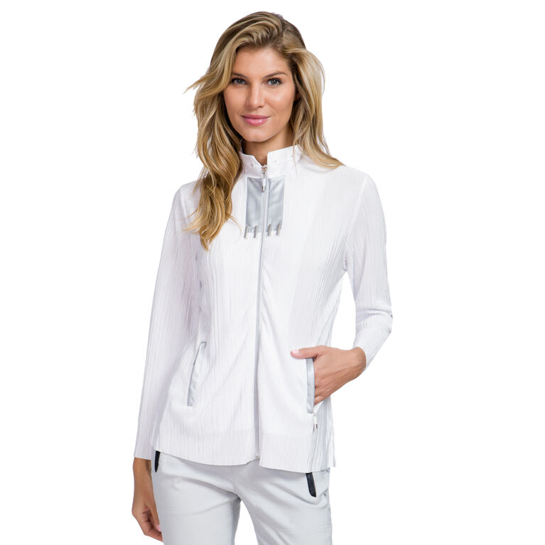 Cupid Group: Full Zip Long Sleeve Crunch Jacket