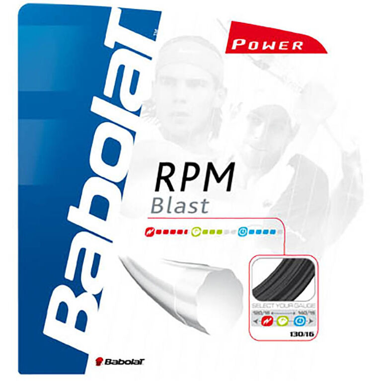 Babolat RPM Blast 17 Gauge String-Black