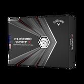 Chrome Soft X Golf Balls - Personalized
