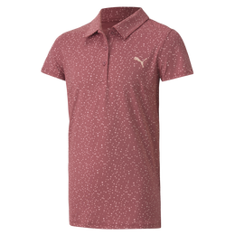 Girls Polka Dot Polo