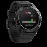Alternate View 1 of Garmin fenix 5 Black Sapphire GPS Watch