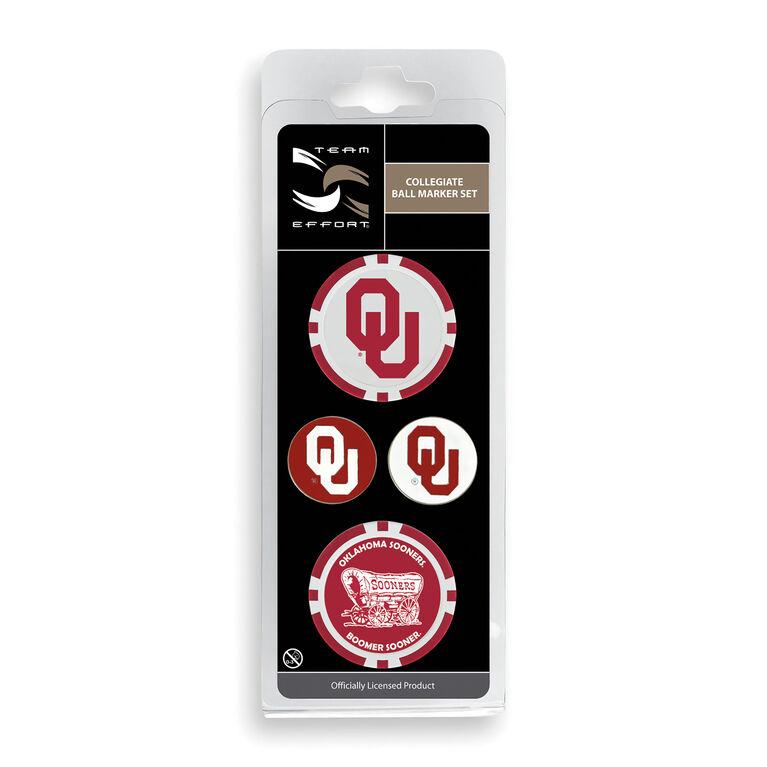 Team Effort Oklahoma Ball Marker