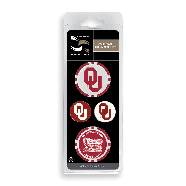Team Effort Oklahoma Ball Marker