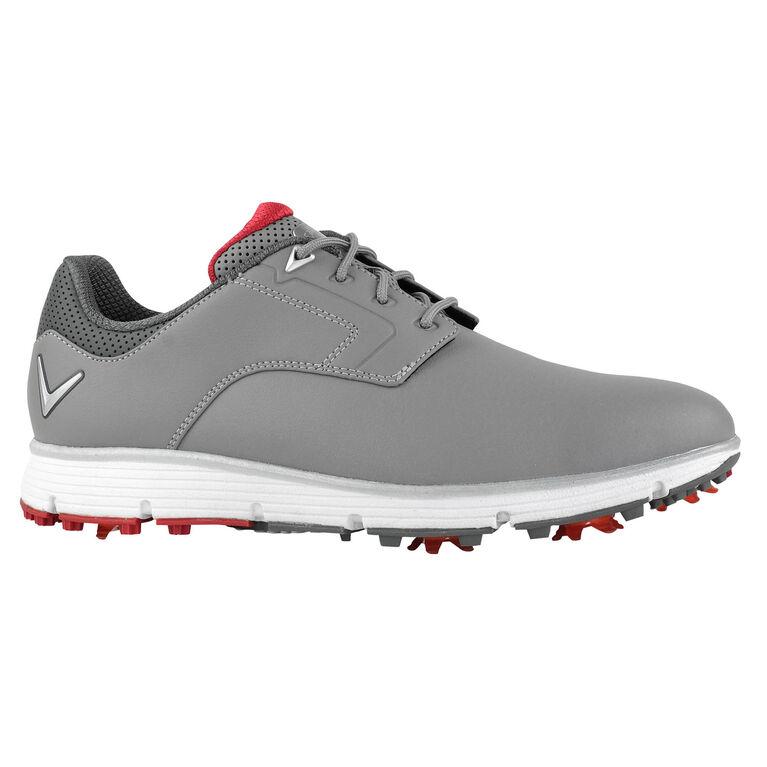 LaJolla Men's Golf Shoe - Grey/Red