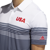 Alternate View 5 of USA Golf Ultimate365 Stripe Polo Shirt