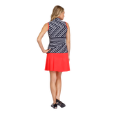 Alternate View 2 of Summer Sensation Collection: Beck Mixed Striped Sleeveless Top