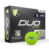 DUO Optix NFL Golf Balls - Seattle Seahawks