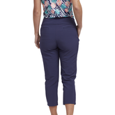 Alternate View 2 of Tropical Collection: Pull On Capri Pants