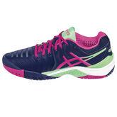 Asics GEL-Resolution 7 Women's Tennis Shoe - Blue