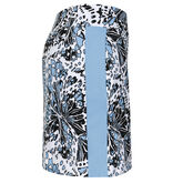 "Into Blues - Mila Flutter Print 18"" Skort"