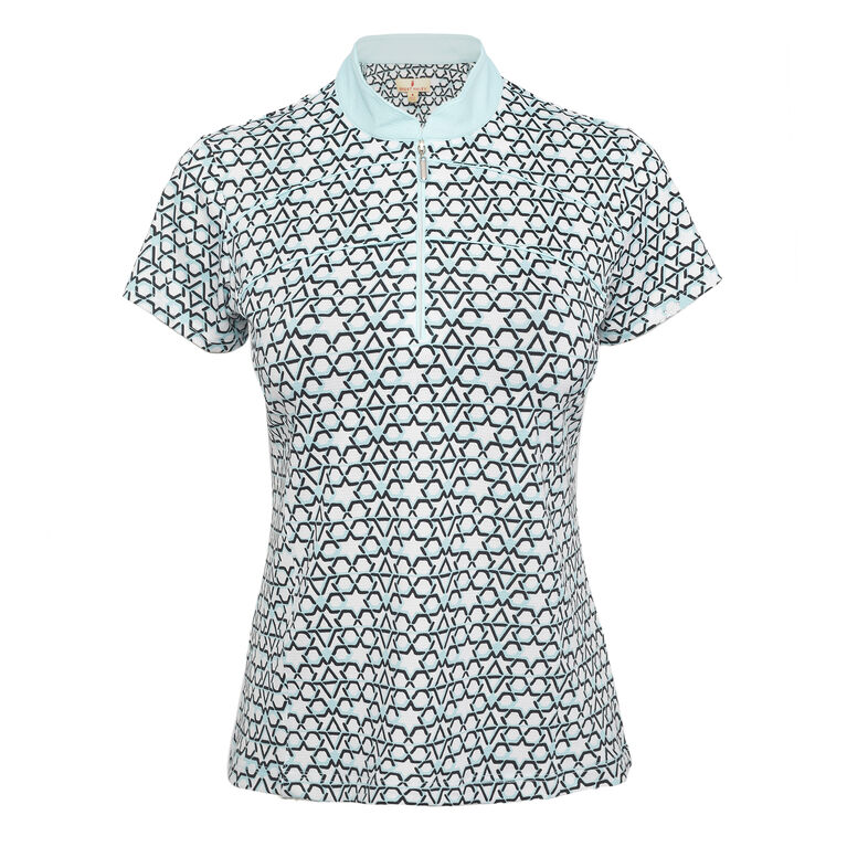 Pitch Perfect: Xena Short Sleeve Polo