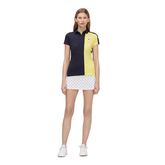 Alternate View 1 of Josephine Short Sleeve Color Block Polo