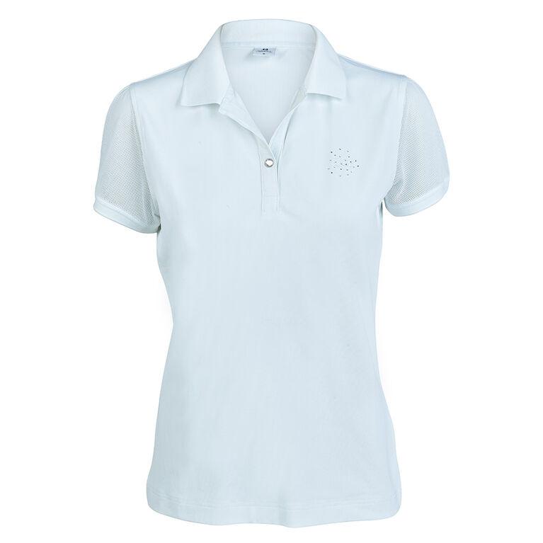 Daily Sports Tavia White Short Sleeve Polo