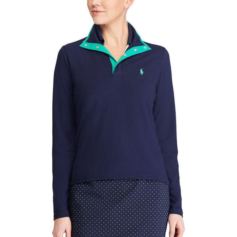 Ralph Lauren Golf Jersey Mockneck Pullover