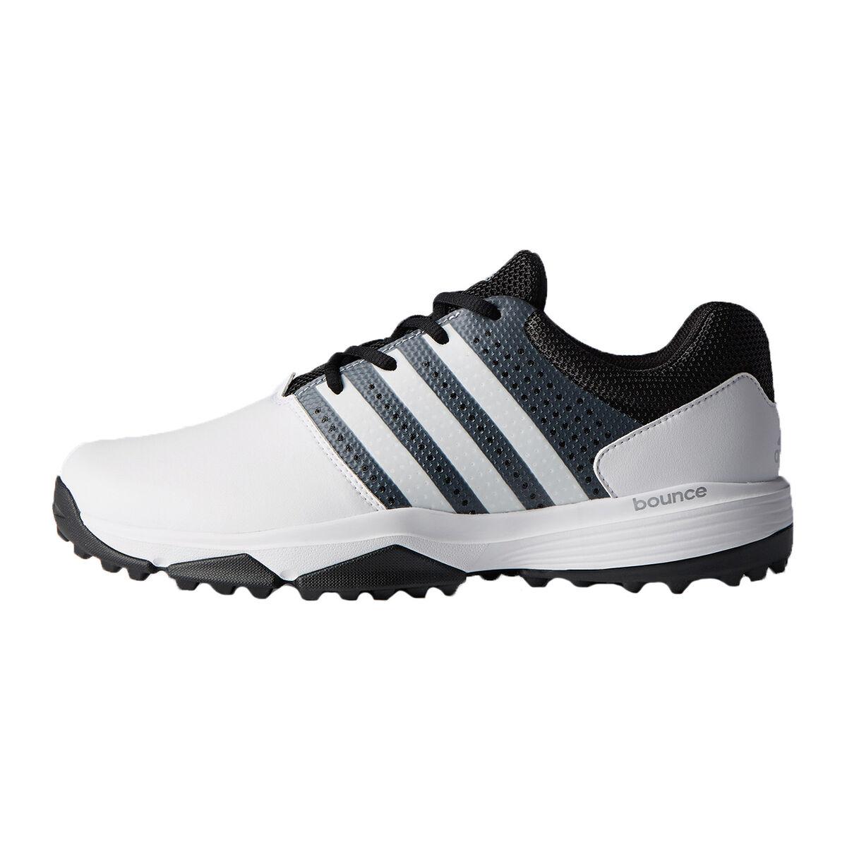 buy online dce14 f29d0 adidas 360 TRAXION Mens Golf Shoe - WhiteBlackPGA TOUR Super