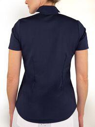 Short Sleeve Rib Mock