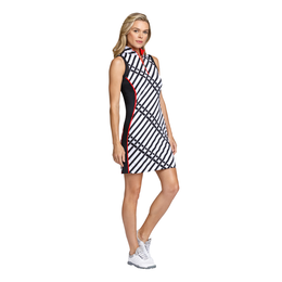 Crimson Chic Group: Aniya Sleeveless Striped Dress