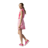 Alternate View 2 of Zenia  Sleeveless Colorblock Polo Shirt