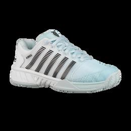Hypercourt Express Women's Tennis Shoe - Light Blue/White