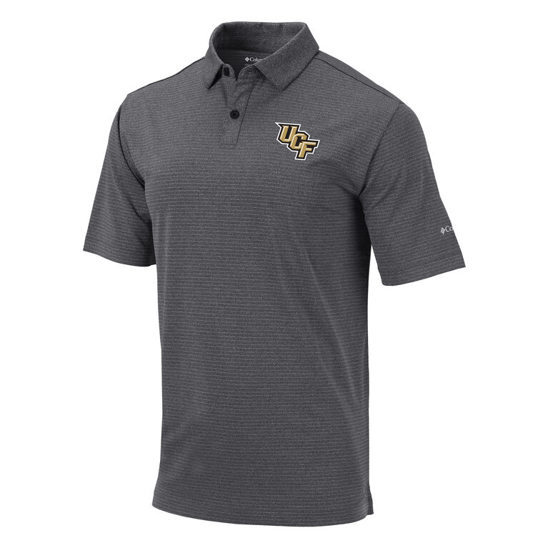 UCF Knights Heather Men's OMNI-WICK Sunday Polo