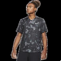 Dri-FIT Victory Print Short Sleeve Tennis Tee Shirt