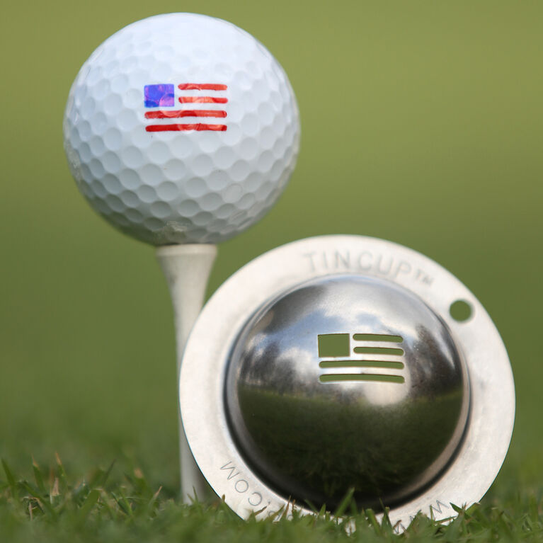Tin Cup- Stars and Stripes