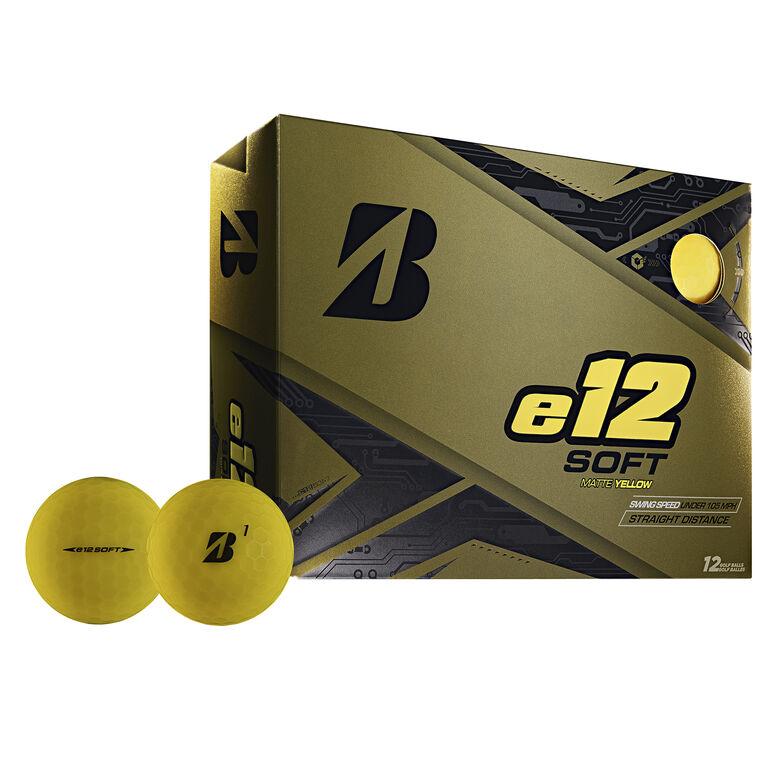e12 Soft Yellow Golf Balls