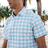 Alternate View 3 of Leeward Medium Check Short Sleeve Dress Shirt