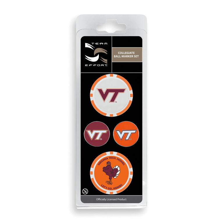 Team Effort Virginia Tech Ball Marker