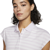 Alternate View 1 of Dri-FIT Women's Striped Fairway Golf Polo