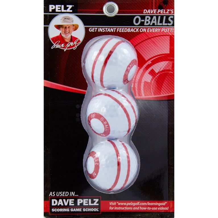 Dave Pelz's O-Ball (3 Pack)