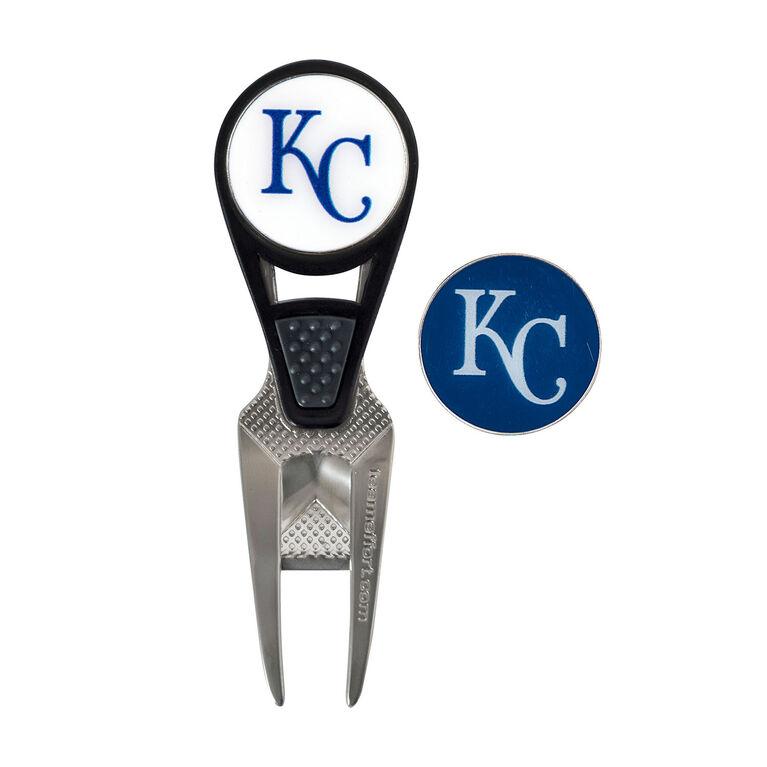 Team Effort Kansas City Royals CVX Ball Mark Repair Tool