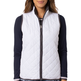 Quilted Reversible Wind Vest