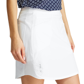 Alternate View 3 of Solid Perforated Stretch Golf Skort